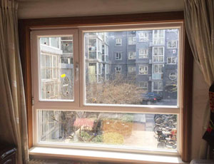 西城区新海苑8号院断桥铝门窗