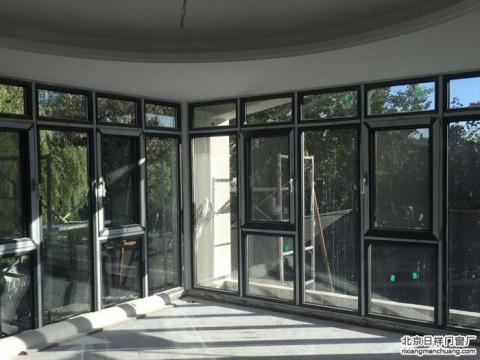 忠旺断桥铝门窗安装案例