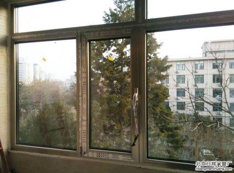 海淀区万寿路8号楼1栋3门断桥铝门窗封阳台