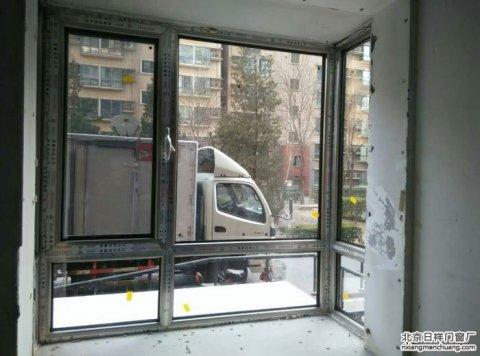石景山区杨庄中区7号楼忠旺断桥铝门窗封阳台