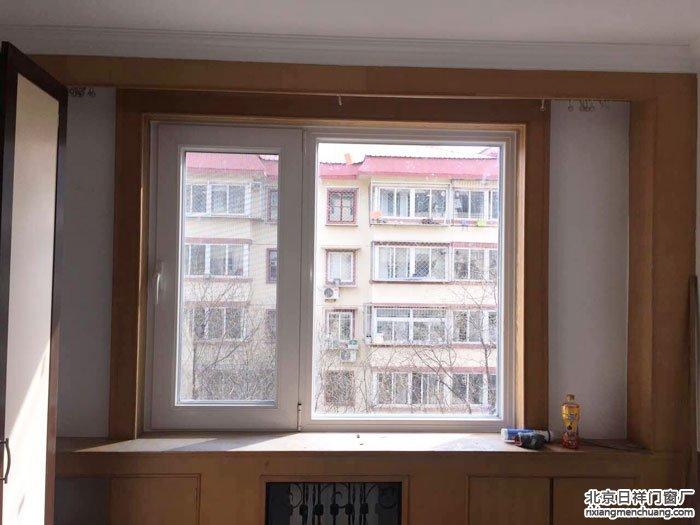 石景山区八角南里10号4门封阳台换卧室窗