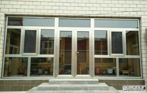 房山江村平房断桥铝门窗