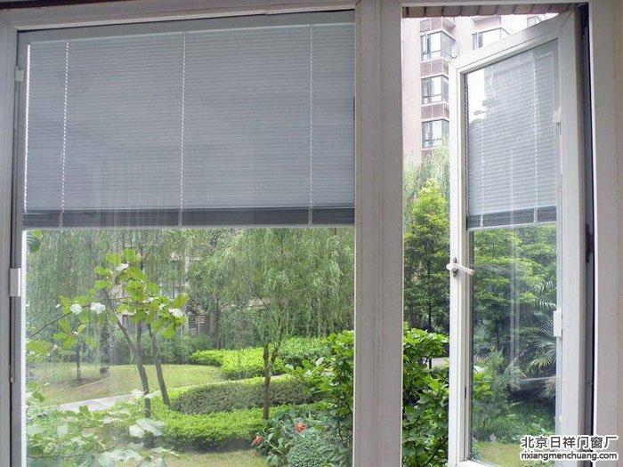 断桥铝中空玻璃内置百叶窗
