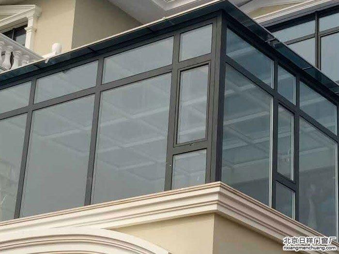 通州潞苑北大街别墅二楼封露台阳光房钢化玻璃顶