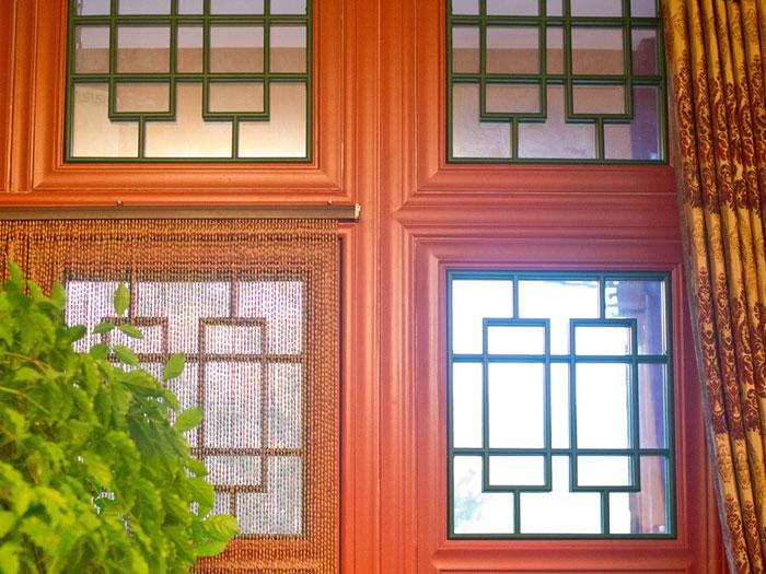中式断桥铝仿古门窗(京韵)