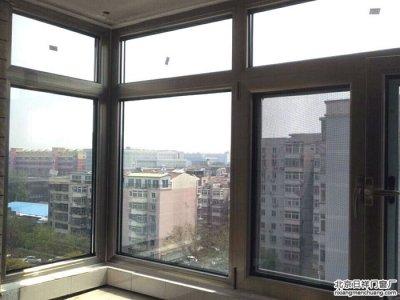 海淀玉泉路玉海园三里小区断桥铝窗70系列封阳台换新窗