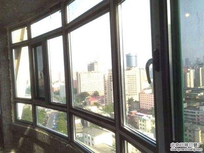 丰台六里桥莲花西里小区换窗户忠旺断桥铝窗70系列封阳台