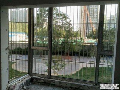 朝阳石佛营中水金海嘉苑忠旺60系列断桥铝门窗封阳台