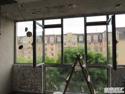怀柔雁西园小区维盾60断桥铝窗封阳台换窗户