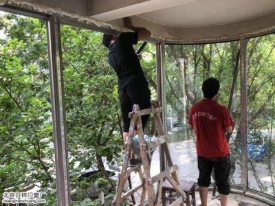 海淀四季青美丽园断桥铝窗70系列换阳台窗卧室窗