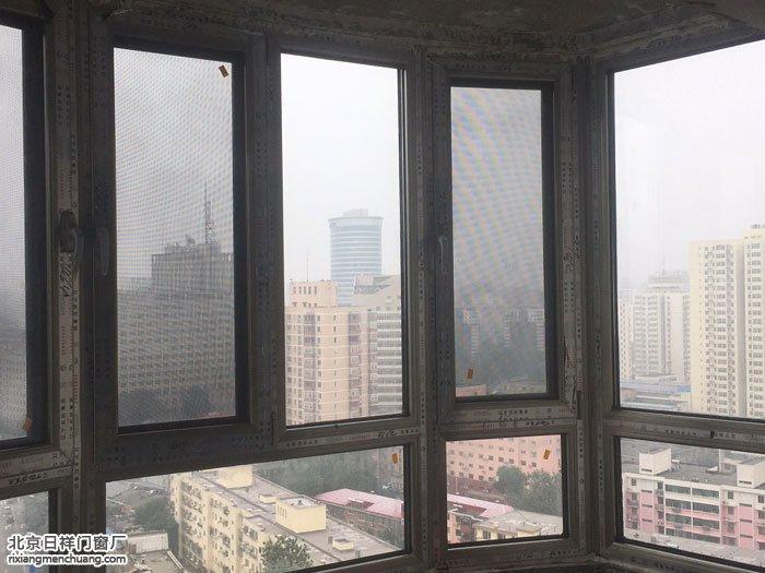 丰台六里桥莲馨嘉园忠旺70断桥铝窗封阳台换新窗