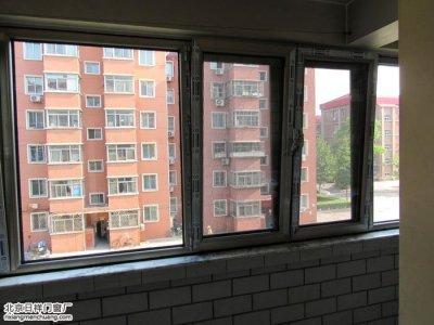 朝阳八里桥东军庄20号楼4单元换断桥铝窗户封阳台