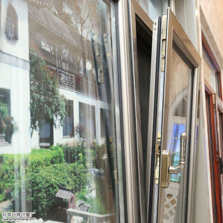 德朗斯断桥铝70系列金钢网一体窗