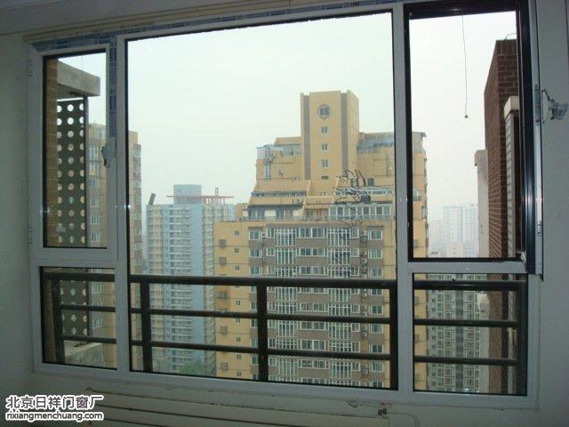 西城马连道格调小区断桥铝门窗安装封阳台