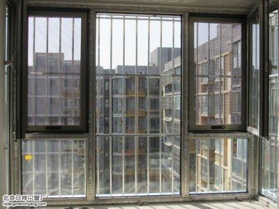 大兴旧宫美然绿色家园安装断桥铝窗户封阳台
