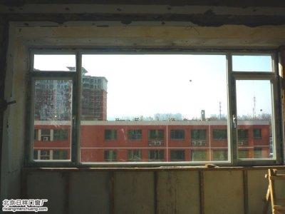 朝阳酒仙桥南十里居换窗户白色断桥铝窗安装