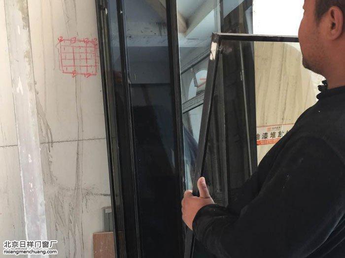 天津武清首创国际芸香雅苑别墅断桥铝门窗安装