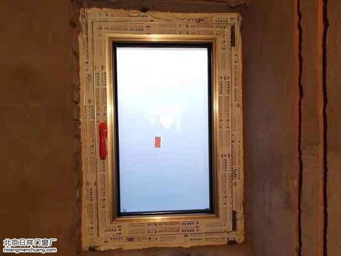 大兴亦庄听涛雅苑安装香槟色断桥铝门窗露台平开门换窗户案例