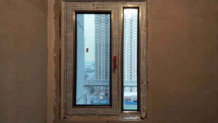西城区公安大学西小区换阳台窗户卧室窗户安装70断桥铝窗