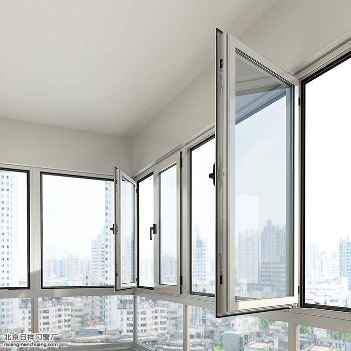 断桥铝平开窗的窗扇设计多大尺寸合适