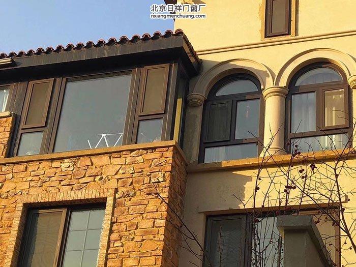 香河新城区大运河孔雀城封阳台换窗户露台阳光房