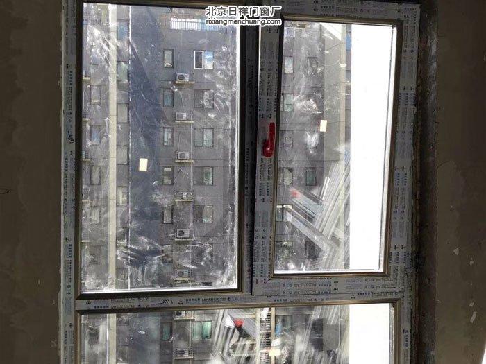 房山区燕化星城断桥铝门窗安装封阳台