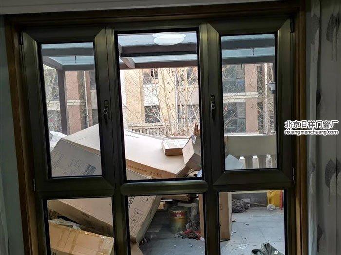 大兴区庞各庄御园小区断桥铝门窗安装换窗户