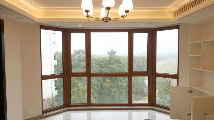 石景山金顶街换窗户忠旺断桥铝70系列门窗安装