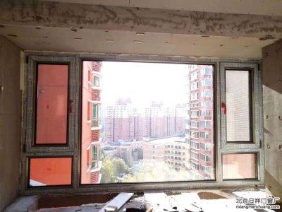 朝阳弘燕路山水文园换窗户定做断桥铝门窗安装